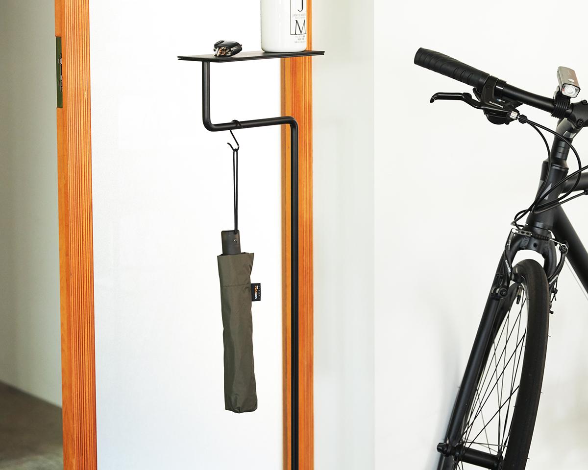 日本のアンブレラメーカー『Amvel(アンベル)』による自動開閉型の日傘・雨傘|《晴雨兼用》指1本でカンタン開閉!丈夫なコーデュラ生地で仕立てた「自動開閉式折りたたみ遮光傘」|HEAT BLOCK ×CORDURA Fabric|VERYKAL LARGE