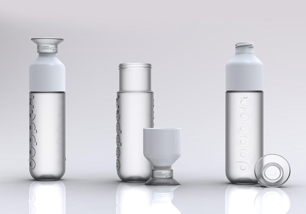 地球環境に優しく寄付もできる、人体に無害な原料を使ったカラフルでおしゃれなデザイン | Dopper社のウォーターボトル