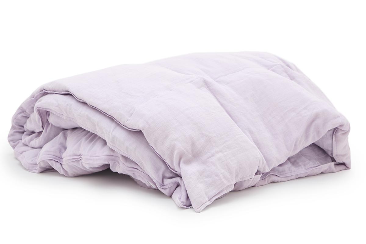 洗濯機で丸洗いできる、洗うほどに柔らかく、肌なじみがよくなっていくガーゼダウンケット