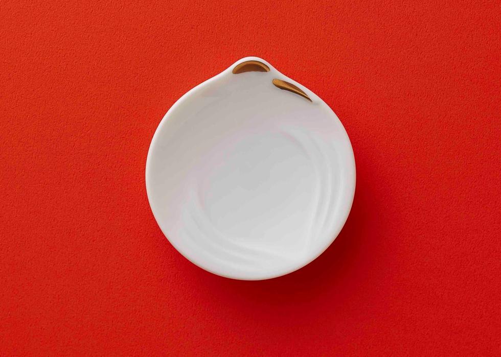 開運・厄除けに、縁起の良いお洒落でスタイリッシュな盛り塩「長寿や夫婦円満の鶴」
