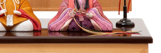 代々受け継がれるモダンな美しい日本の伝統工芸が結集した木目込みプレミアム雛人形|柿沼東光の宝想雛