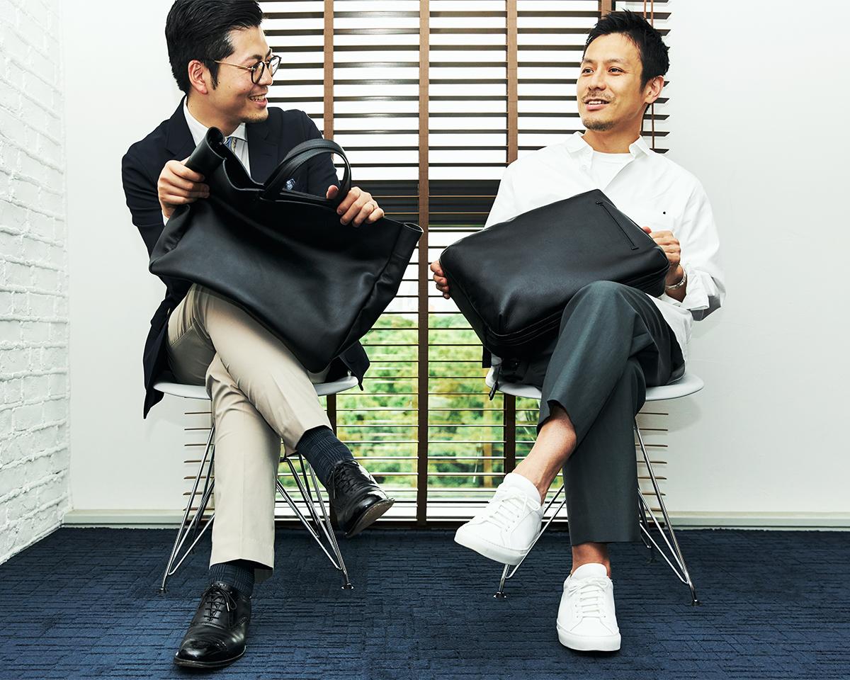 研ぎ澄まされたデザインが、あなたの脳内を整理整頓、考えごとをスムーズに、所作をスマートにする|防水レザー、超軽量、直感ポケット付きの日本製レザーバッグ|PCバッグ・トートバッグ・リュック・バックパック|FARO(ファーロ)