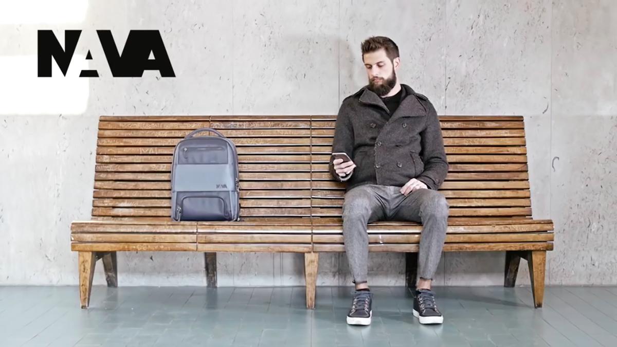 イタリア・ミラノのデザインブランドNAVA Designによる、機能的でお洒落なバックパック|NAVA