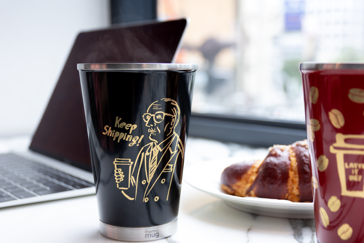 いつものコーヒータイムが上質な時間に変わる、漆の真空二重構造のステンレスボトル(タンブラー)