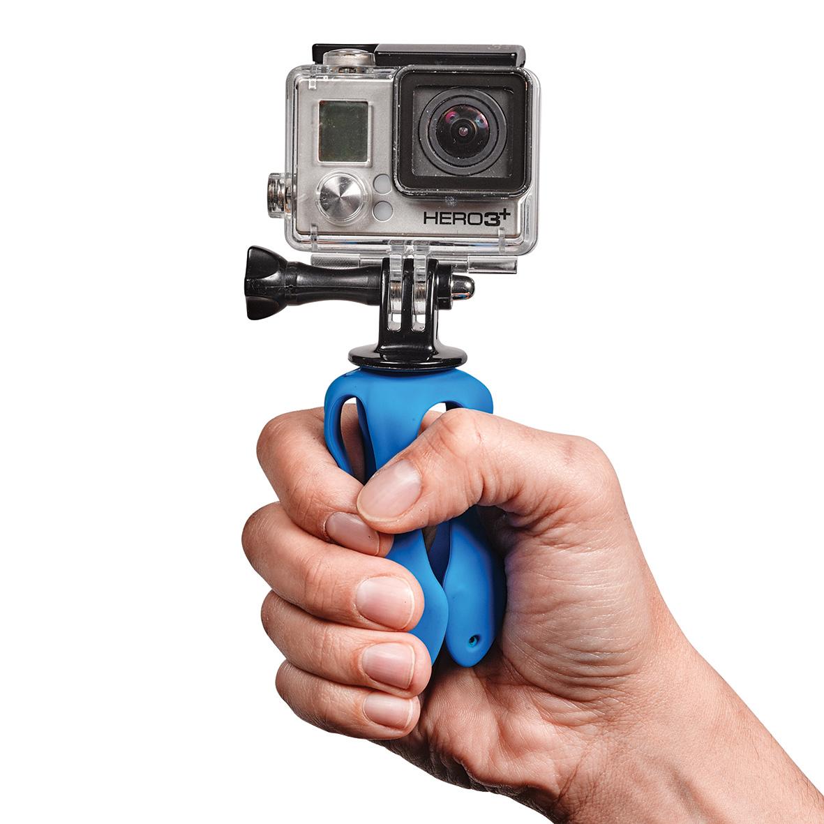 アクションカメラにも対応する薄くて、軽くて、コンパクトなスマホ&カメラ用スタンド| miggo