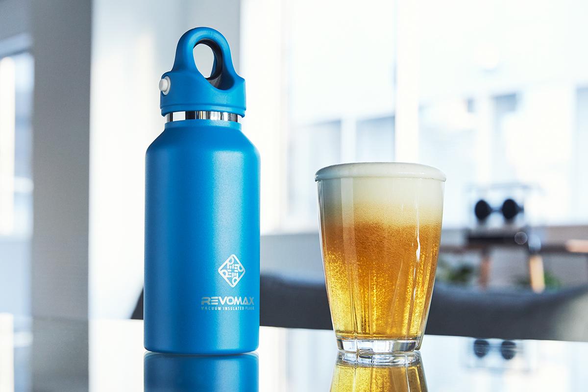 多くのマイボトルに多い、洗いにくいスクリュー部や、外れないパッキンがないから、手軽に洗える「マイボトル」|REVOMAX(レボマックス)