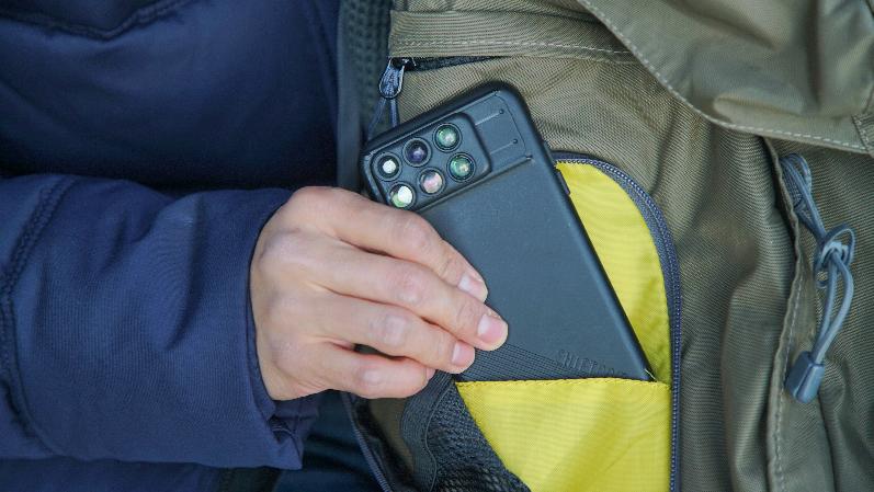 「広角」「望遠」「マクロ」「魚眼」レンズをひとつのチップに搭載した日常使いに適したトラベルセット | ShiftCam 2.0