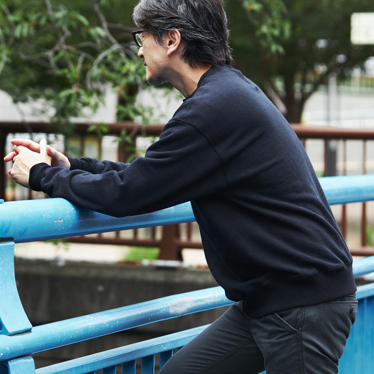 洗うほど、着込むほど、やわらかく馴染みます。スポルディング社の名作から、現存していない「ブラック」をMade in Japanで「トレーニングシャツ」|A.G. Spalding & Bros