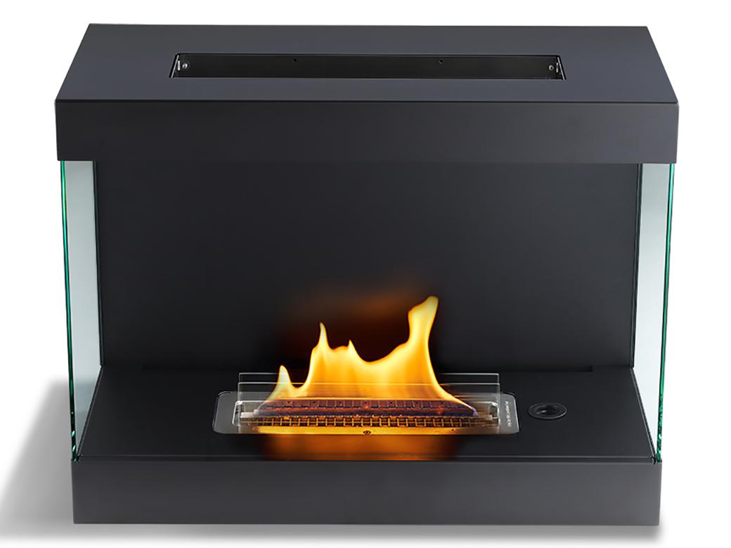 設置工事は不要、薪も煙突もいらないから、家の中はもちろん、テラスでもどこでも、好きな場所に置けます。安全な専用燃料で片づけいらず、ニオイも煙も出ないから、家のどこにでも置けるバイオエタノール燃料を使った「暖炉」|LOVINFLAME VENTFREE