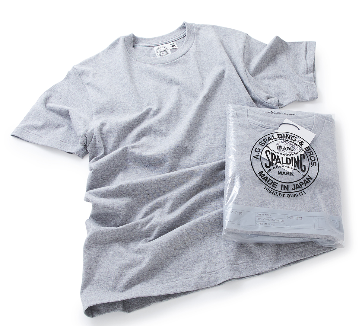 A.G. スポルディング社史初のパックTシャツ(2枚組)| A.G. Spalding & Bros.