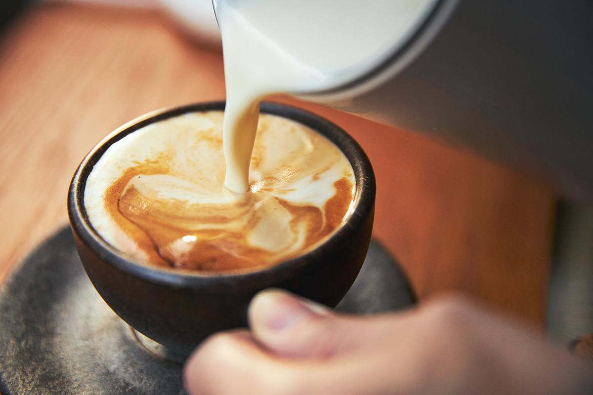 まろやかソイカプチーノ|アレンジ次第でいろんな自分カフェレシピが作れる。思わず唸るほど、キメ細やかでクリーミーなふわふわミルクが簡単に作れる「全自動ミルクフォーマー」|PRINCESS Milk Frother Pro