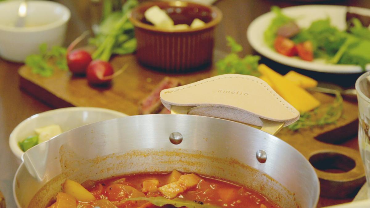 長く愛用できる料理が美味しくなる銅のフライパン|ameiro