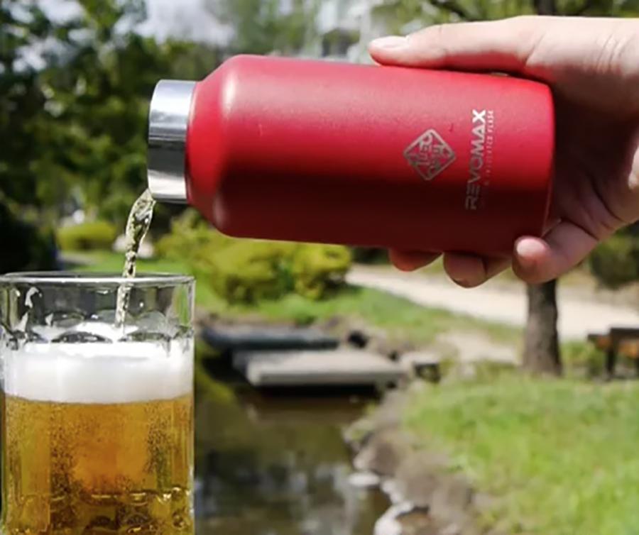 炭酸水もスープも持ち運びできる。36時間保冷、18時間保温の「マイボトル」|REVOMAX(レボマックス)