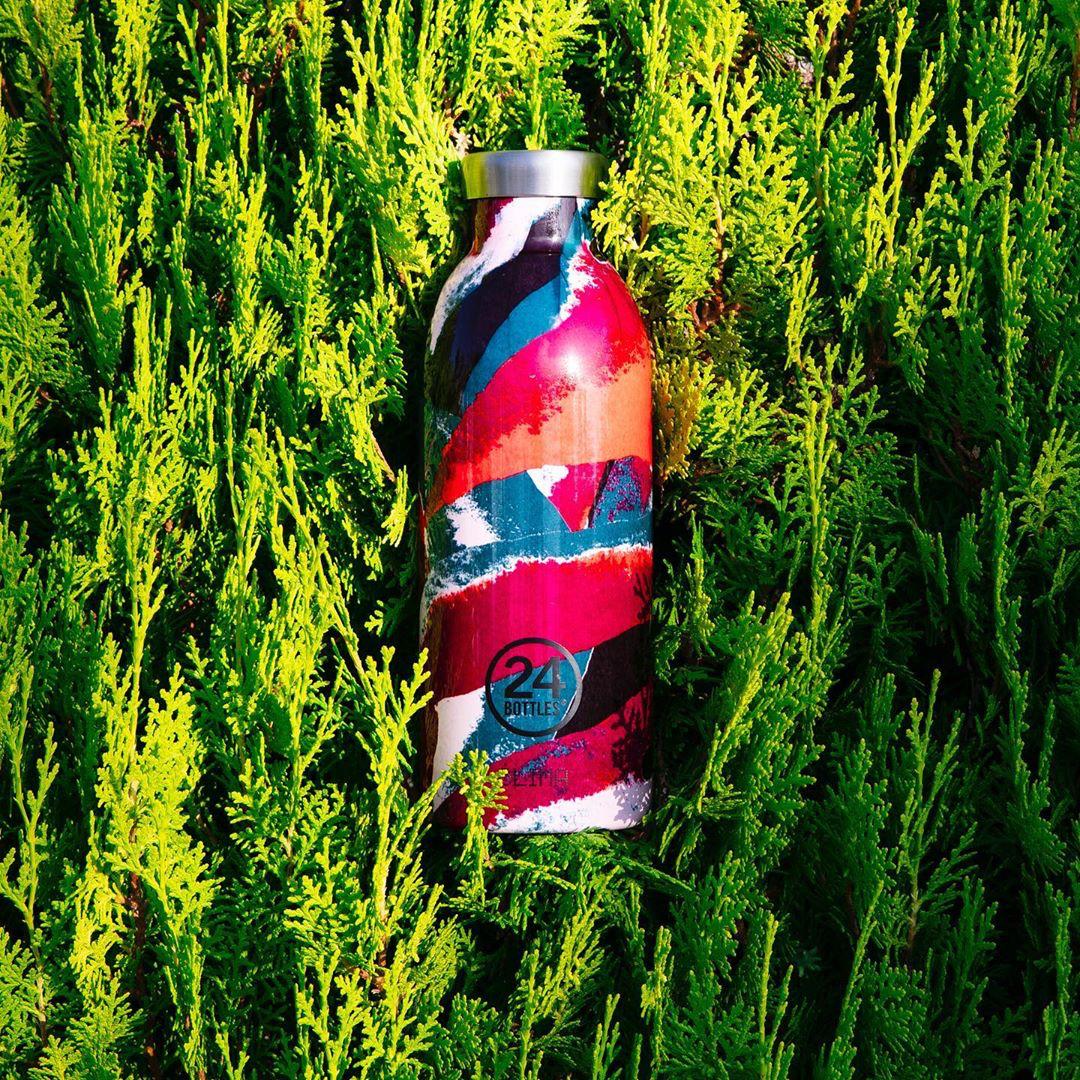 プラスティック・CO2排出を削減が自然にできる。地球のために持続可能な素材づかいと、持ち歩きやすく、しかも美しいデザインを兼ね備えた「マイボトル・タンブラー・水筒」|24Bottles(トゥエンティーフォーボトルズ)』