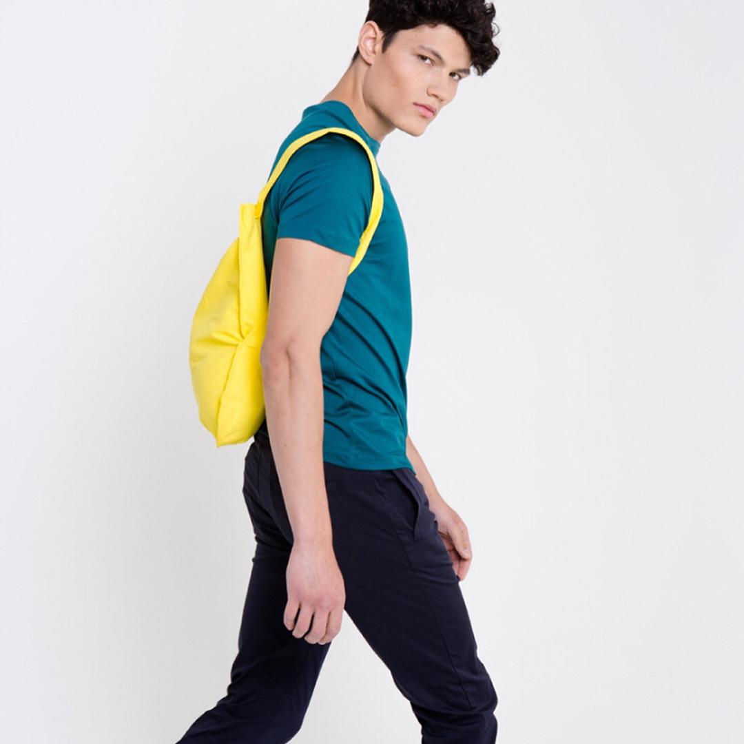 リュック|体型や年齢を問わない、誰でも使いやすいデザイン。トートとリュックを一つにしたスマートなエコバッグ|notabag(ノット ア バッグ)