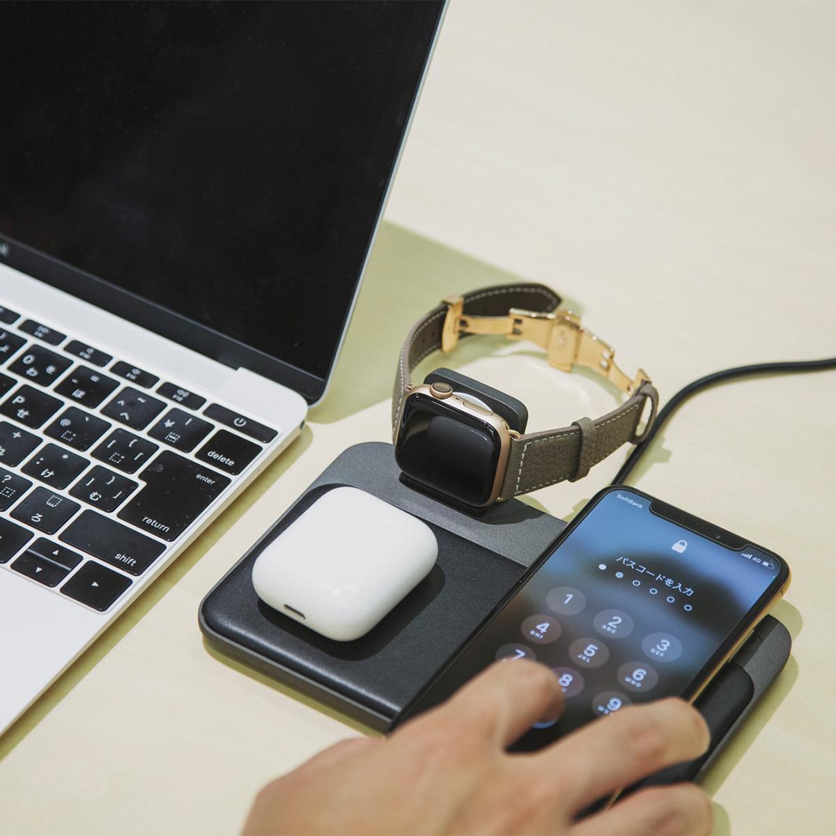 最高品質のレザーバンドを着せ替えできる贅沢も楽しめる、アクティブな腕元を洗練する、ワンタッチ着脱の「Apple Watchバンド」|EPONAS(エポナス)