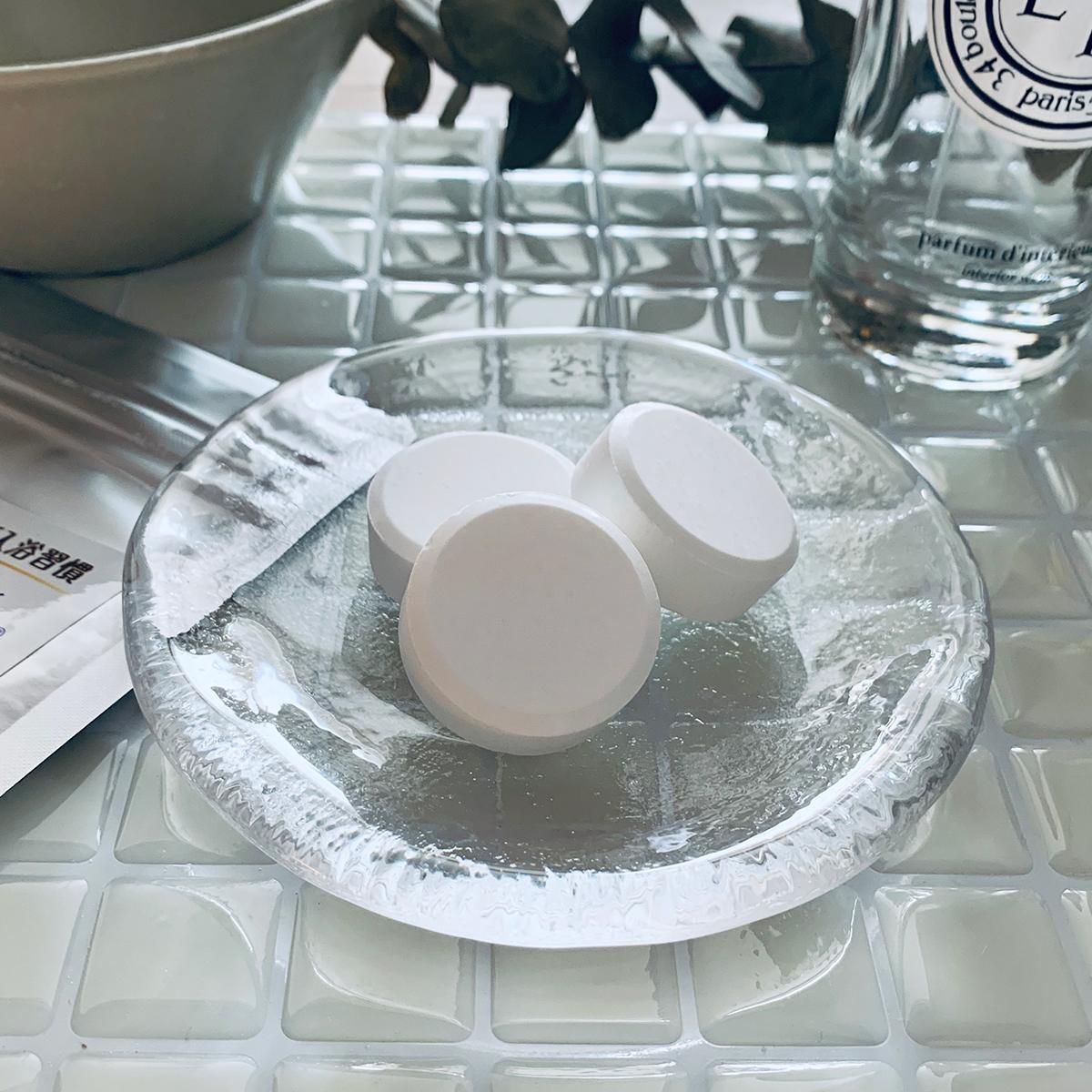 1日の終わりの楽しみ「究極の炭酸湯」。日本初!独自の高硬度マイクロカプセル技術が生んだ重炭酸湯のタブレット入浴剤|薬用Hot Tab(ホットタブ)