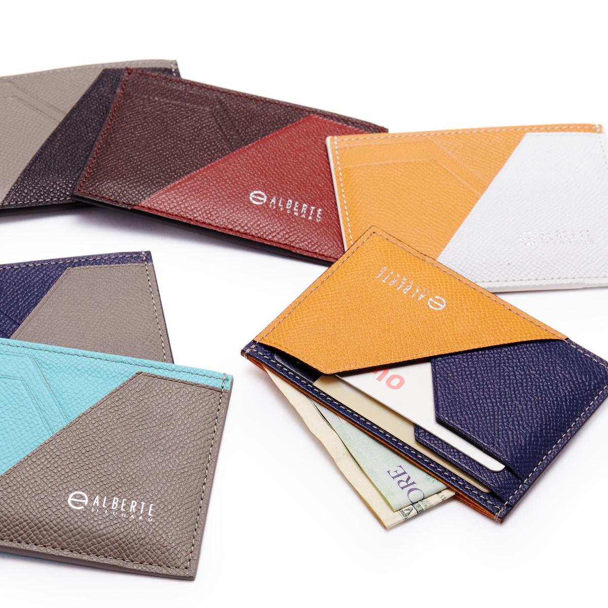 無理なくミニマムを極めた、「薄い財布」の傑作(パスケース)|ALBERTE