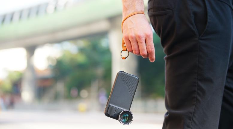 ケースデザインの設計も秀逸なiPhoneケース一体型のレンズ!6種類のレンズ・バッグ付きのコンプリートセット | ShiftCam 2.0
