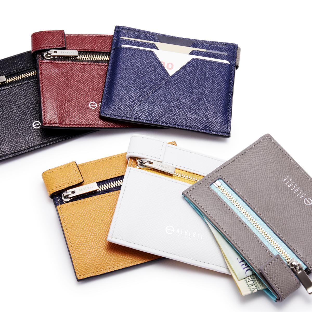 無理なくミニマムを極めた、「薄い財布」の傑作(札入れ)|ALBERTE
