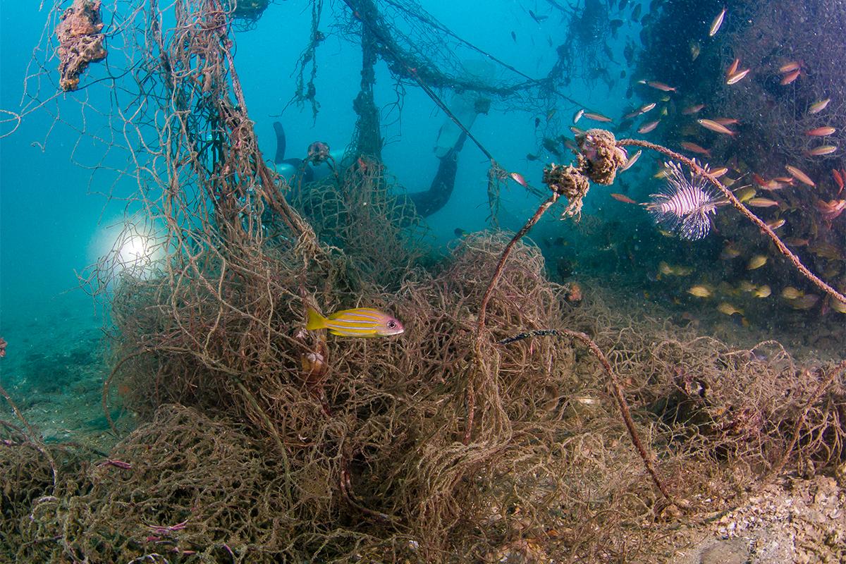 海底には65万トンもの漁網が廃棄され眠っています。地球環境に世界一やさしいブランド。海底から救い出されたゴミが、繊維に生まれ変わる!再生素材を使った、これからの「サステナブルスニーカー」|ECOALF