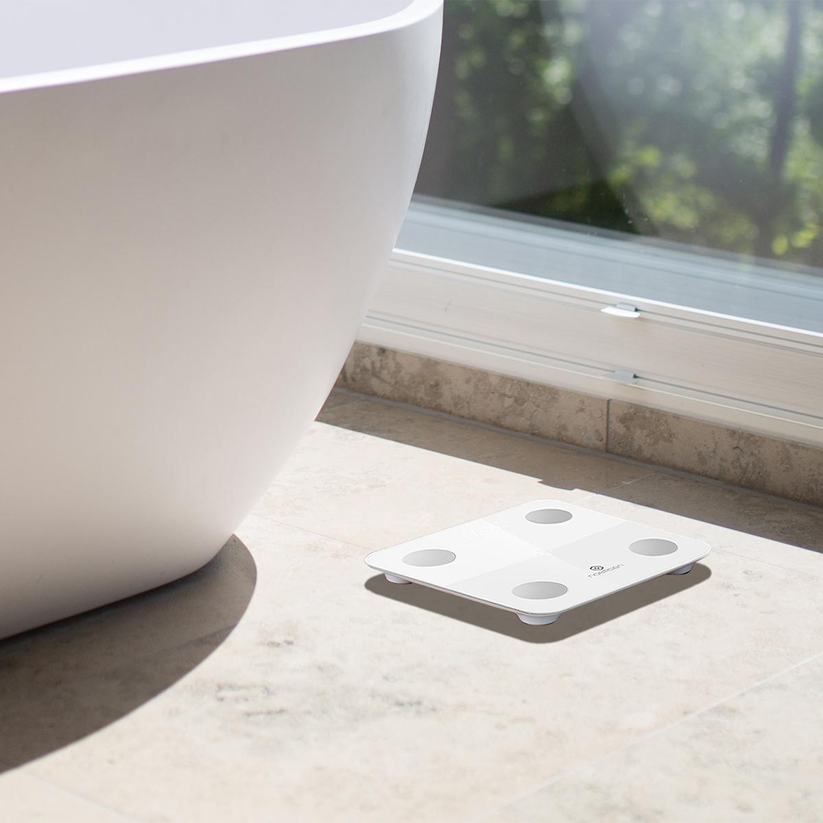 NOERDENのデータは、MINIMIと同じ専用アプリで一括管理できる。乗るだけでスマホアプリに体重を自動で記録、楽しく続けられる「スマート体重計」|MINIMI(ミニミ)