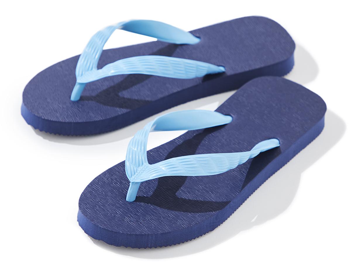 OGASAWARA(深い「小笠原ブルー」に魅せられる)がテーマのビーチサンダル|九十九サンダル