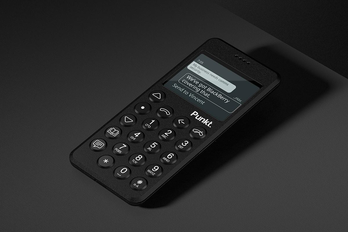 優れた強度と耐熱性のあるグラスファイバー製の筐体。ディスプレイにはゴリラガラス3を採用した携帯電話・ミニマムフォン|Punkt.(プンクト)