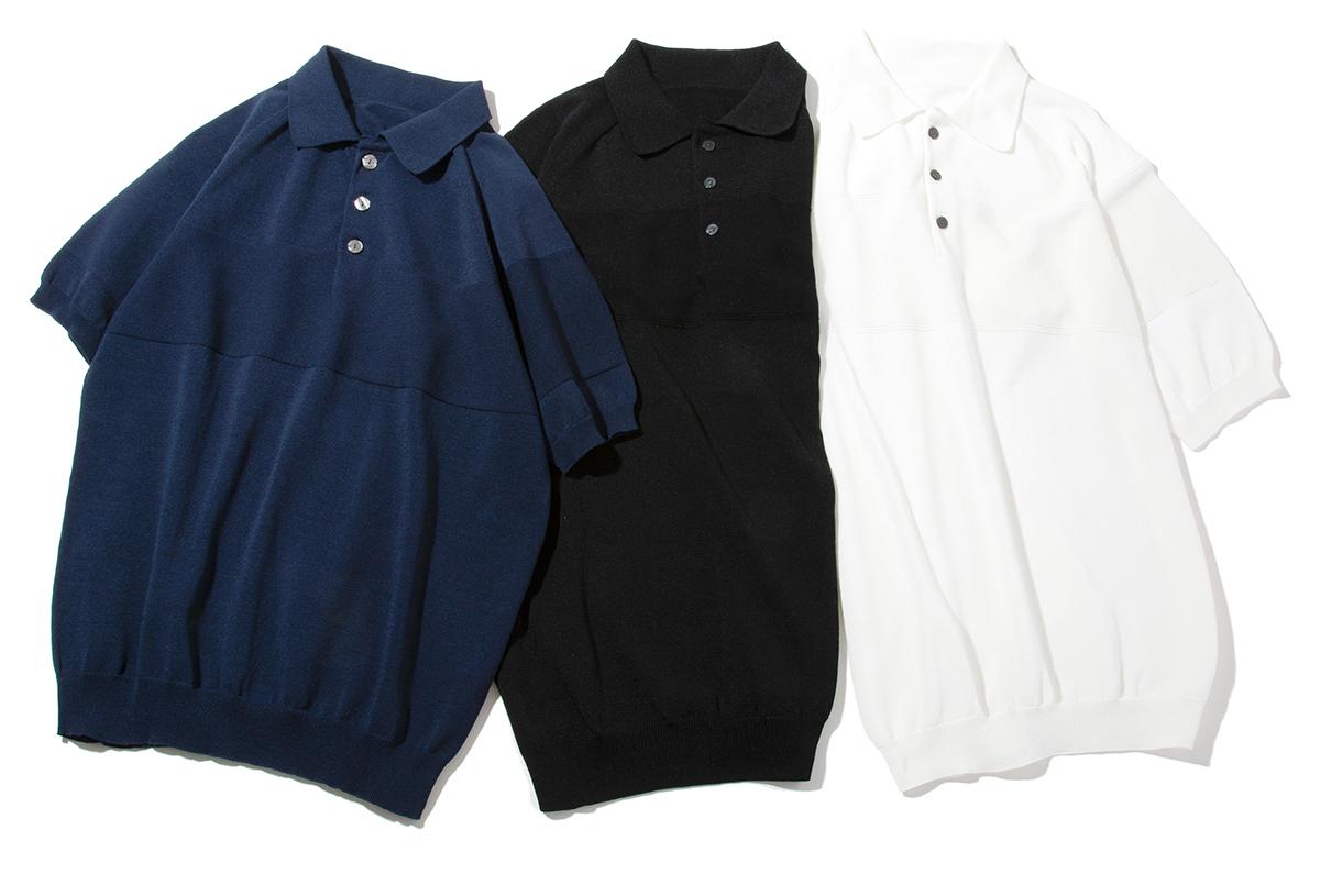 MONOCO数量限定。汗でベタつかない、匂わない、綿より軽い!三拍子揃った「ニットポロシャツ」|伊予和紙ポロシャツ