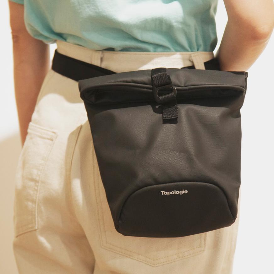 【ウエストバッグ】シーンに合わせて4通りの使い方ができる「4WAYウエストバッグ」(水濡れや汚れに強いドライコレクション)|Topologie