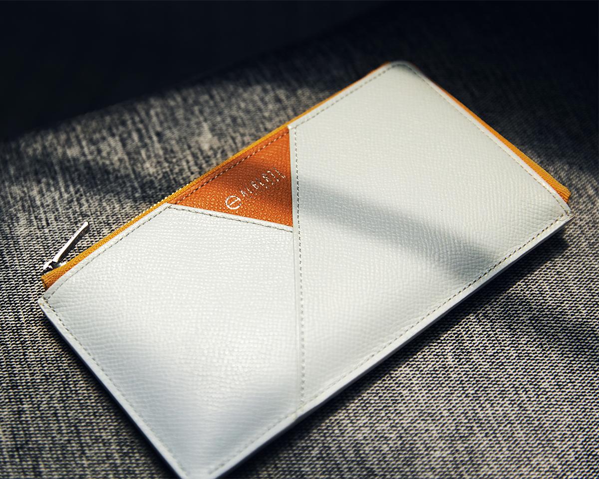 フタが省かれたシンプルなデザイン。無理なくミニマムを極めた、「薄い財布」の傑作(長財布、二つ折り財布、パスケース、カードホルダー) ALBERTE