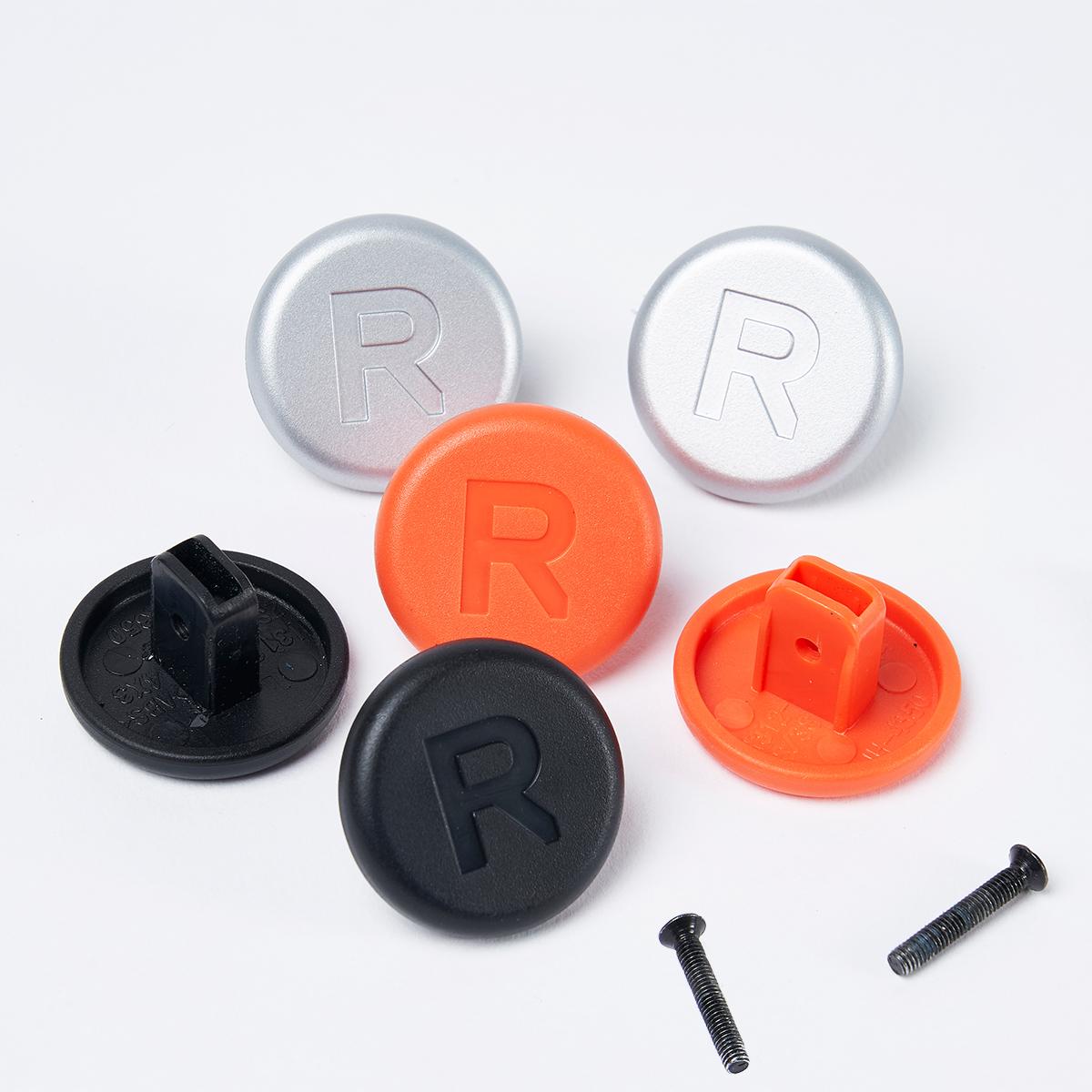 何度でも、自分で付替えできる。愛用スーツケースを好きな配色にカスタマイズ!TTハンドルの横顔を気分に合わせて付替えできる「ハンドル用キャップ」|RAWROW