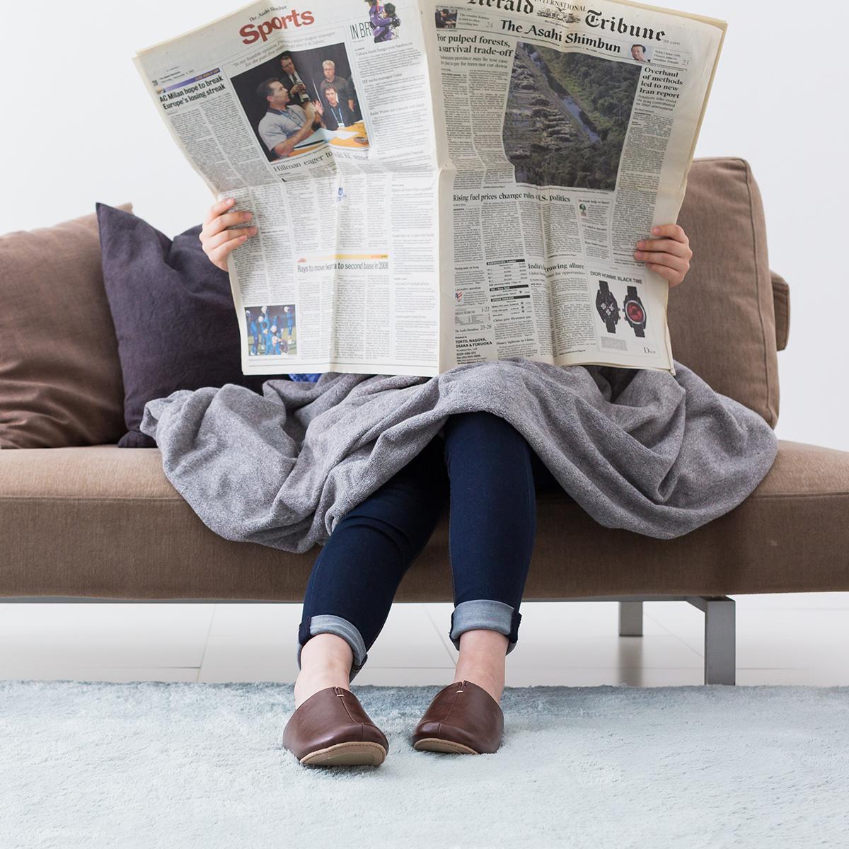 毎日の暮しは、もっと心地よく感じられる、お洒落で、履き心地の良い「スリッパ」|room's
