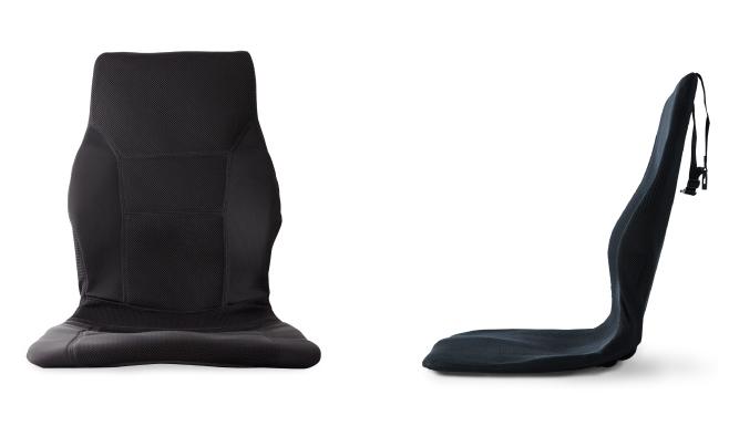 まるで、あなたのために設計した、オーダーシートのような座り心地。置くだけで、運転中ずっと、腰・背中・お尻がラクな車用シートクッション|P!nto Driver