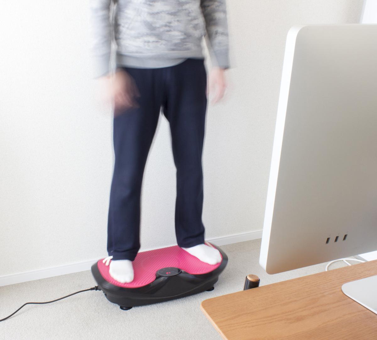 若々しい体づくりに欠かせない、毎分840回の振動ボード|DOCTOR AIR 3Dスーパーブレードスマート