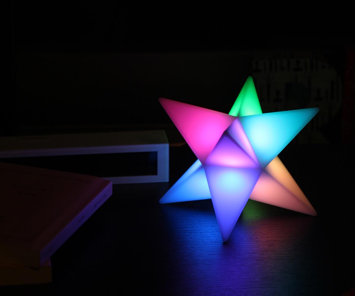 聖晶石のようなおしゃれライト