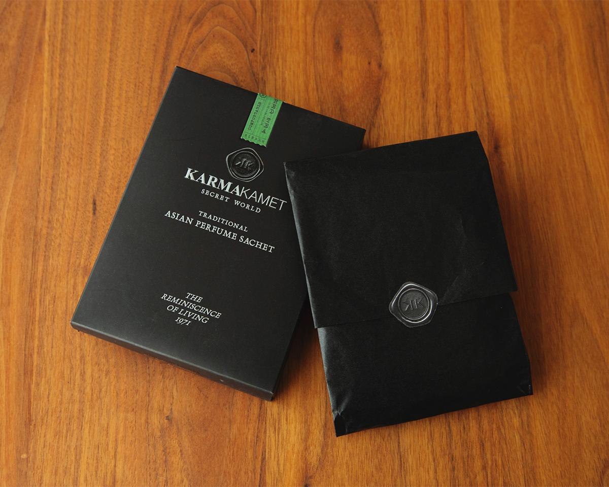 インテリアとして部屋に置きたくなる、大切な人に贈りたくなる佇まい。サシェ・匂い袋・香り袋|タイ王室御用達のアロマブランド『KARMAKAMET(カルマカメット)』