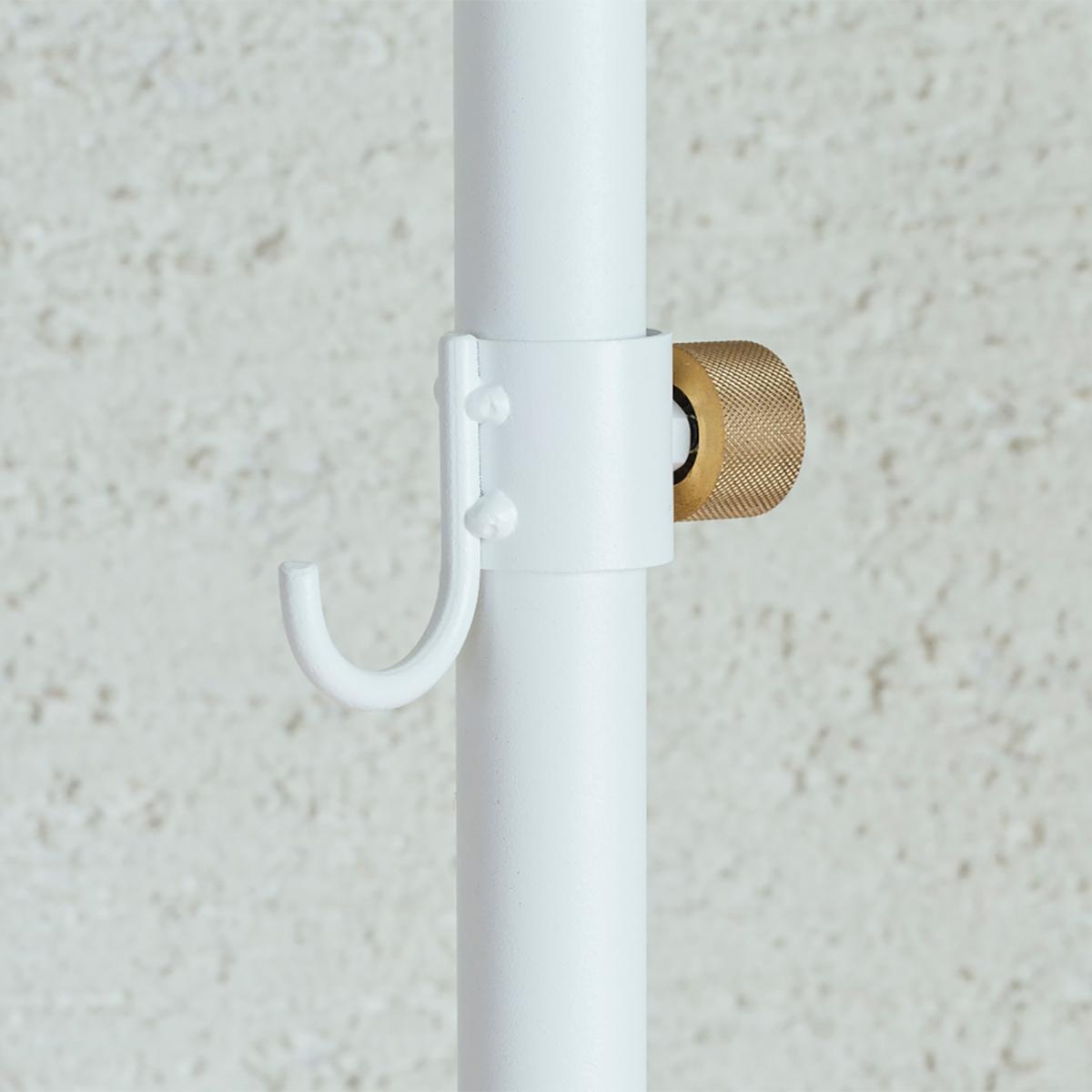 小フック|1本の線(ライン)に、鍵もバッグも指定席ができる「つっぱり棒」|DRAW A LINE