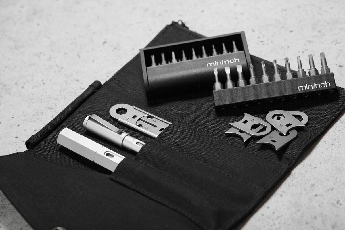美と機能性が融合したスタイリッシュな工具|mininch