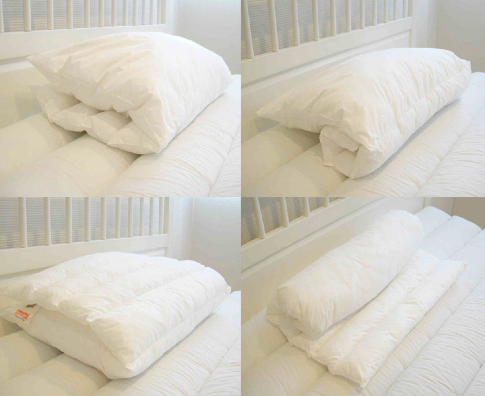 快適な睡眠へつながる高さが調節できる理想のまくら