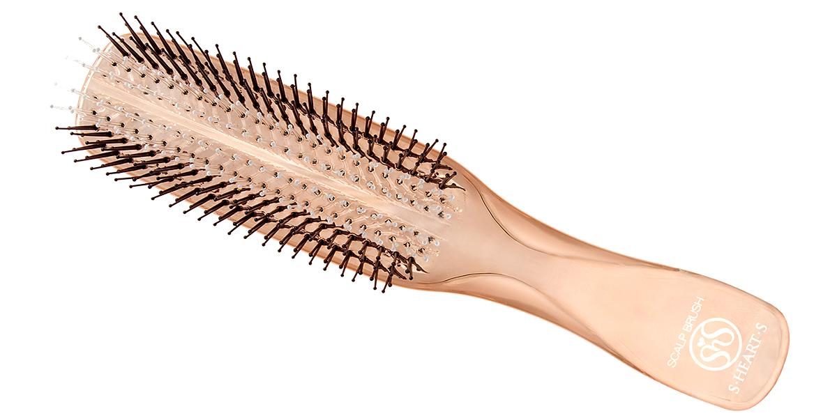 376本のピンから生まれる「爽快感」。スカルプブラシ(育毛ブラシ)|SCALP BRUSH(スカルプブラシ)