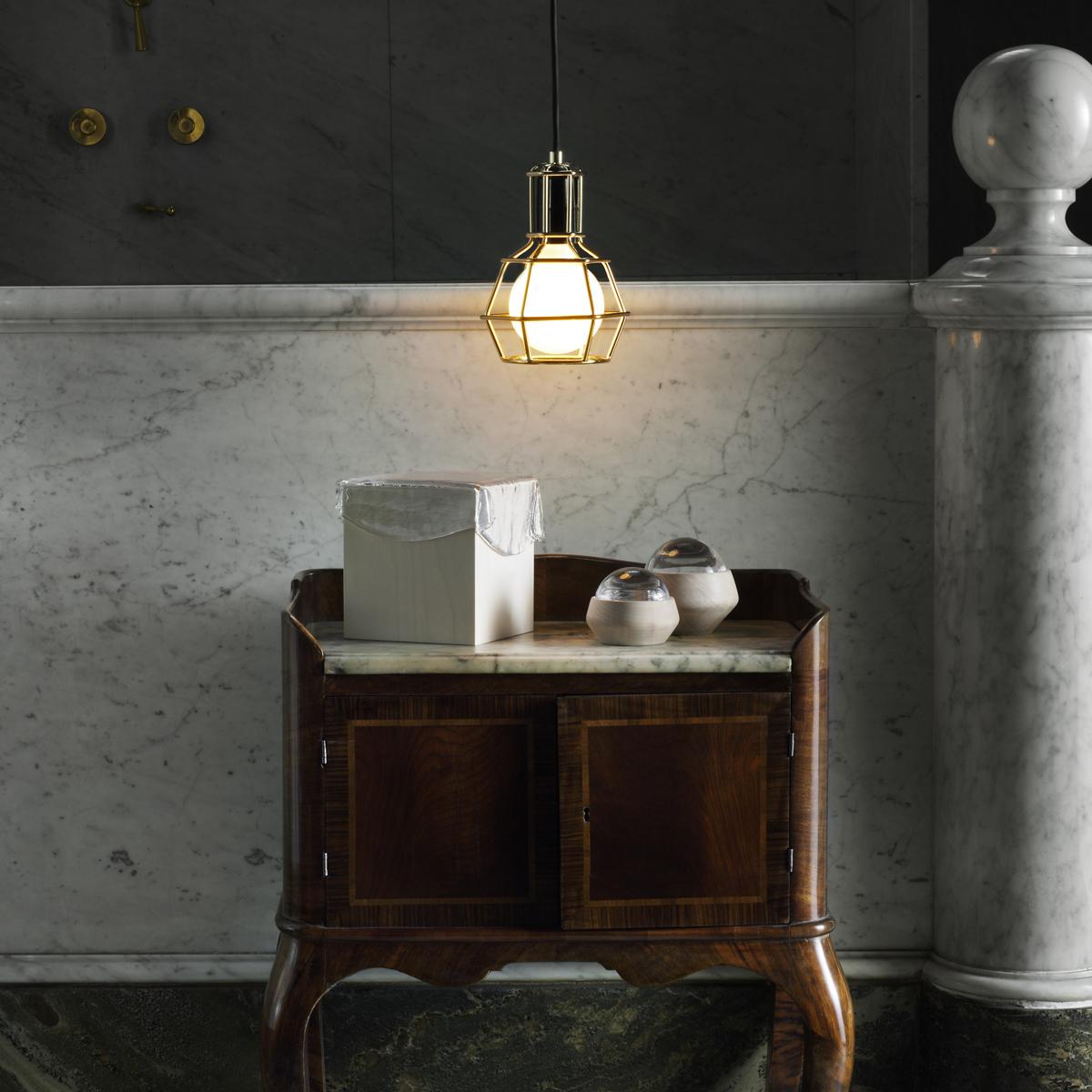 北欧・スウェーデン生まれの照明オブジェになる作業用ランプ|DESIGN STOCKHOLM(Work Lamp)