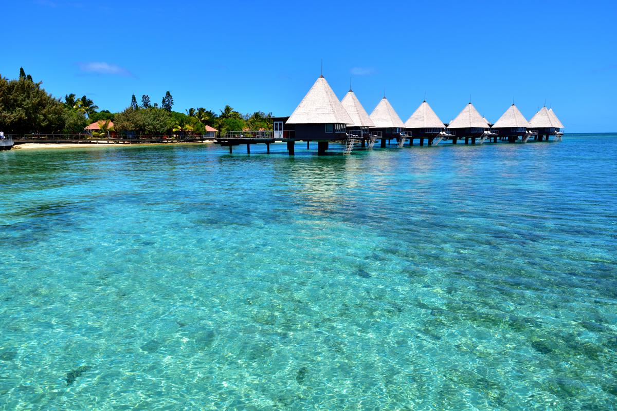 NEW CALEDONIA(天国に一番近いターコイズの海)がテーマのビーチサンダル|九十九サンダル