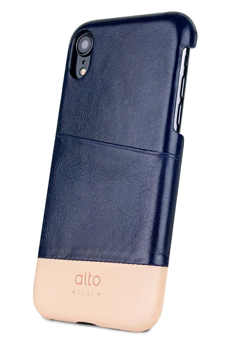 衝撃に強く耐久性があるポリカーボネートケースに本革を貼り込んだ、滑らかで温もりのあるiPhoneケース|Alto