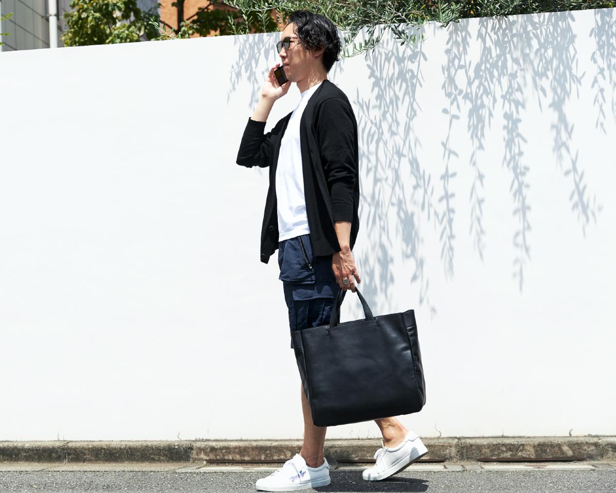 |防水レザー、超軽量、直感ポケット付きの日本製レザーバッグ|PCバッグ・トートバッグ・リュック・バックパック|FARO(ファーロ)
