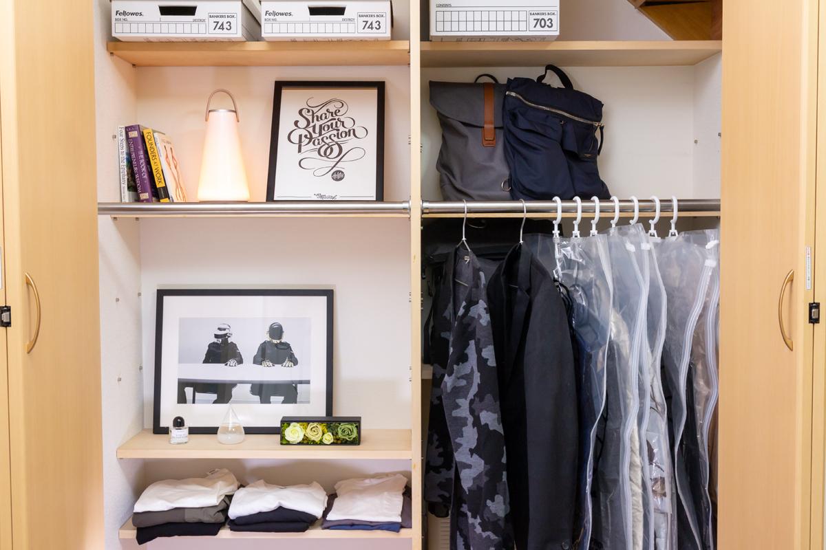 クローゼット内がすっきり整理できる衣類圧縮バッグ|vacuum seal hanging bag