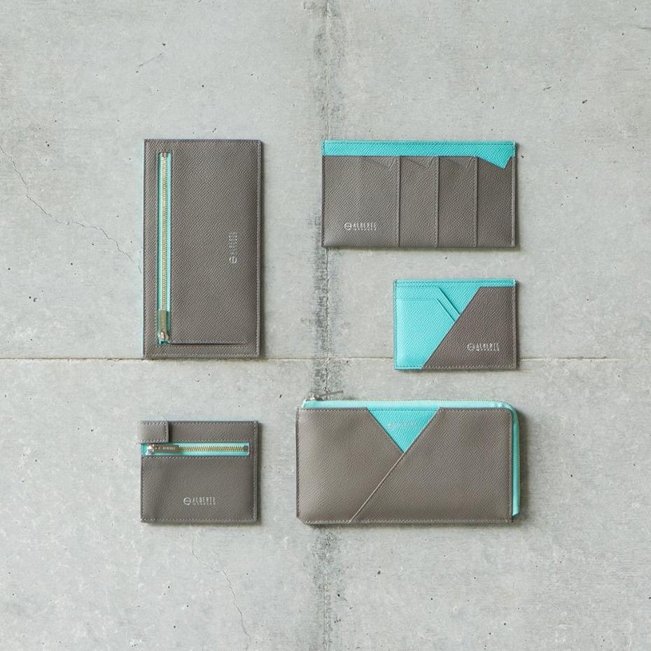 こだわりの国産素材と日本の職人技が実現した、美しい薄さの革財布(パスケース)|ALBERTE