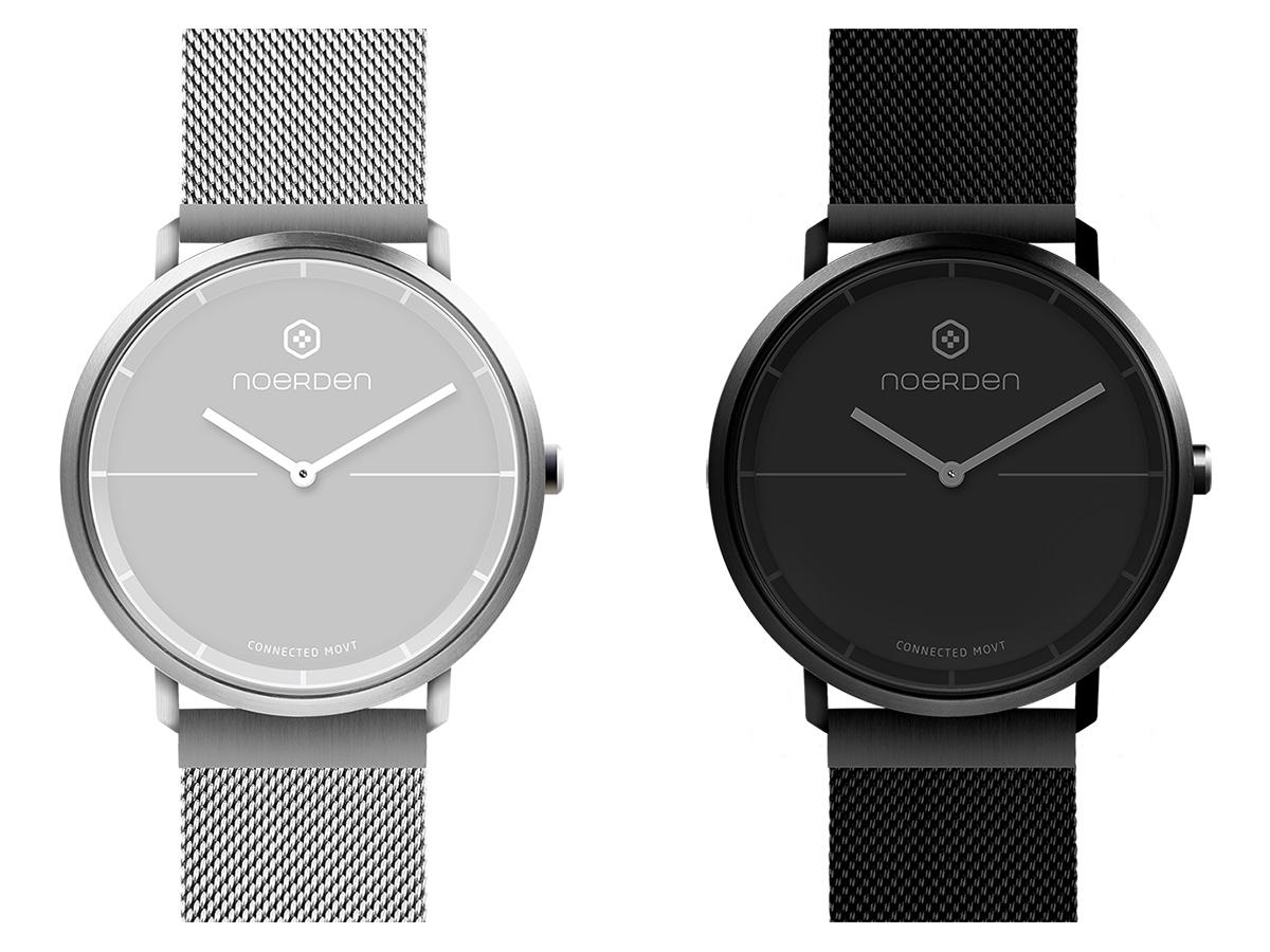 高級腕時計に採用されているサファイアガラスだから傷つきにくい。24時間、あなたの活動量も睡眠も見守ってくれるスマートウォッチ|noerden(ミラネーゼバンド)