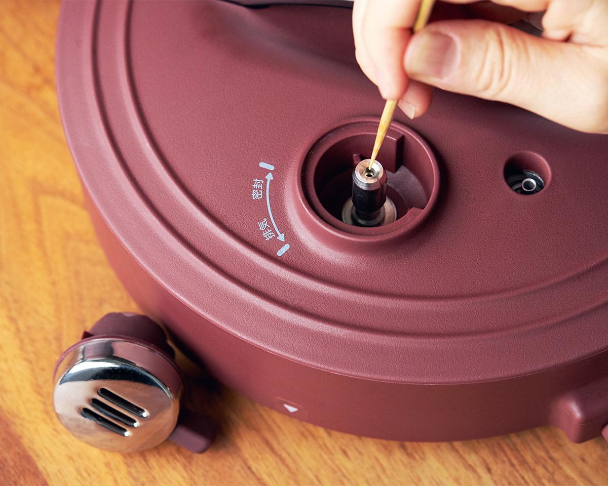 肉はジューシーに、ジャガイモはホクホクに下ごしらえ!炊飯も調理も楽チンで早い「アシスト調理器・電気圧力鍋」|Re-De Pot(リデ ポット)