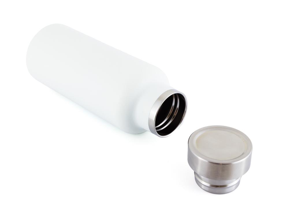 魔法瓶と同じステンレススチール2層構造で長時間の保冷・保温が可能、お洒落なステンレスサーモボトル(水筒) | THERMO BOTTLE 500ml